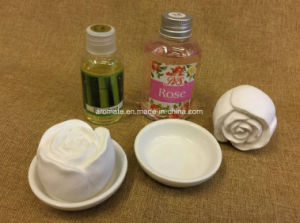 Decorative Rose Shaped Fragrance Scented Ceramic (AM-94) pictures & photos