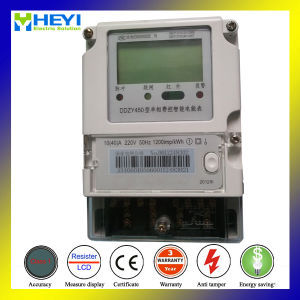 Siemens Energy Meter Large LCD with Battery Background 2015 Type Single Phase 2 Wire Dds450 pictures & photos