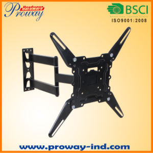"""TV Wall Mount Bracket for Most 22""""-55"""" LED LCD Plasma Flat Screen Vesa up to 400X400 with Full Motion Swivel Articulating in Extension Arm pictures & photos"""