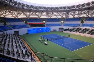 Outdoor PVC Sports Flooring / Badminton Sports Floor pictures & photos