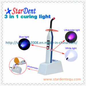 New Dental Three Colors LED Curing Light pictures & photos