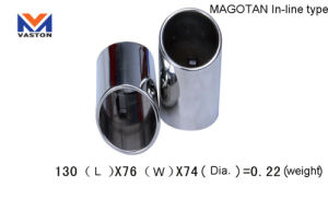 Exhaust/Muffler Pipe for Auto/Magotan in-Line Made of Stainless Steel 304b pictures & photos