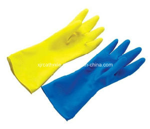High Quality Cleaning Latex Household Gloves