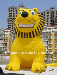 2015 Hot-Selling Waha Customized Gold Inflatable Lion pictures & photos