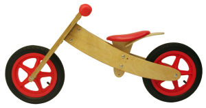 High Quality Birch Plywood Wooden Balance Bike (TTWB002-1)