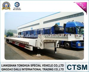Lowbed /Low Bed Semi Trailer (semi-trailer) pictures & photos