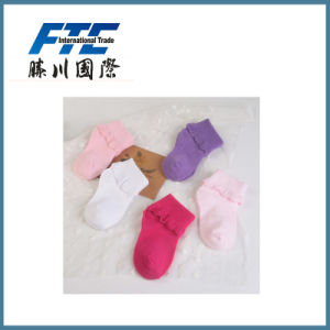 Child Socks with Lace Decoration Children Stockings pictures & photos