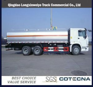 Qingdao HOWO 8X4 32cbm Oil Tanker Truck pictures & photos