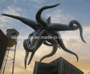 2015 Hot Selling LED Lighting Decorative Inflatable Metal Star 0001 pictures & photos