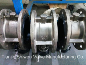 BS/DIN/JIS/ANSI/API Double Flange High Performance Butterfly Valve pictures & photos