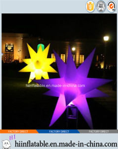 2015 Hot Selling LED Lighting Party/Event Decoration Inflatable Star 0007