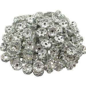 Curve Rhinestone Beads Tube Spacer Bars, Discount Wholesale Shamballa Beads pictures & photos