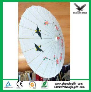 Promotional Logo Customized Paper Umbrella pictures & photos