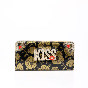 Stock Lady′s Kiss Metal Wallet Purse (MBNO037149) pictures & photos