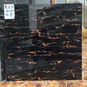 Promotion Dark Colour Polished Stone Tile pictures & photos