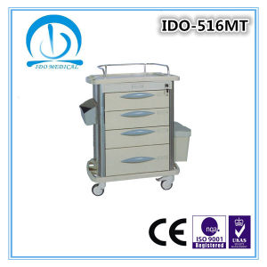 Hospital Medical Cart with Wheels pictures & photos