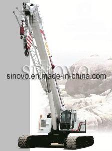 25T capacity hydraulic crawler mounted SQ250A telescopic crawler crane pictures & photos