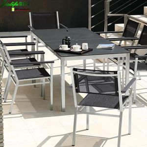 HPL Rectangle Table Used Dining Tables for Sale pictures & photos