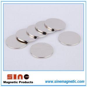 Round Magnet / Disk Neodymium / Loudspeaker Magnet pictures & photos