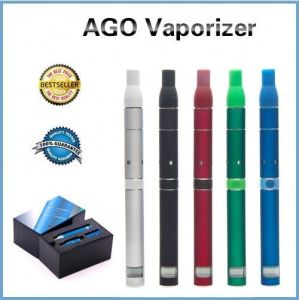 2013 Original Ago G5 Herb Vaporizer Wax Vaporizer Ceramics Heating Chamber LCD Puff Counts Portable Pen Style Dry Herb Vaporizer