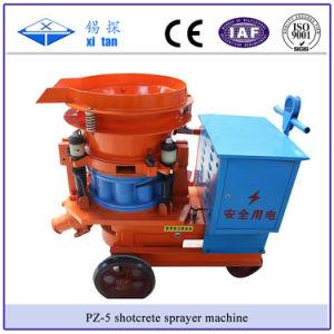 Pz-5 Dry Shotcrete Spray Machine Gunite Concrete Sprayer pictures & photos