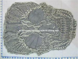 2012 Cotton Embroidry Large Size Skull Applique (AP-49)