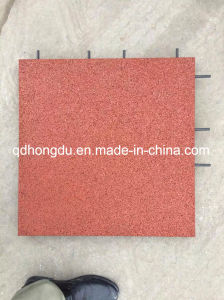 Interlock/Square Type and Dog Bone Rubber Tile pictures & photos