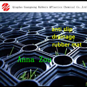 Hot Sell Rubber Hollow Mat/Wear-Resistant Grass Rubber Mats pictures & photos