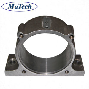 Custom High Manganese Steel Lost Wax Casting Bearing Seat pictures & photos