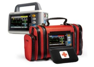 Transport Emergency Transfer Patient Monitor Touchscreen Handheld Ambulance Vital Signs Monitor Sc-C30 pictures & photos