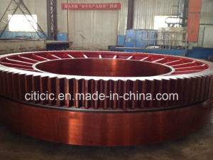 Integrated Cast Large 45 Module Gear Ring for Rotary Kilns pictures & photos