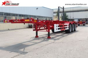20 40 Container Transport Chassis Trailer with Skeleton Type pictures & photos