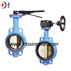 Large Butterfly Valve with Electrical Actuator