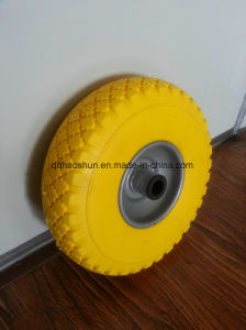 10 Inch PU Wheel 3.00-4 pictures & photos