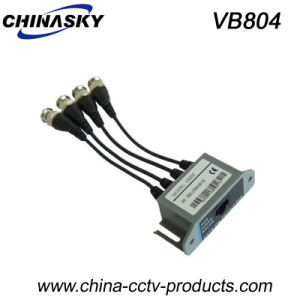 4 Channel Passive CCTV Video Balun Transceiver (VB804) pictures & photos