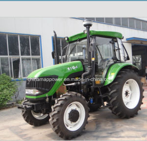 4WD 110HP Farming Tractor with Low Price pictures & photos