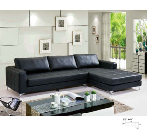 North Europe Style Modern Leather Sofa (8053) pictures & photos
