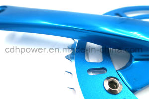 Bike Pedal Crank, Bicycle Crank, Siamesed Crank/Intergrated Crank, Bicycle Spare Parts Heavy Duty Crank Set with Bottom Bracket pictures & photos