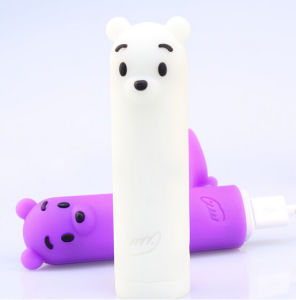 Promotional Gift Cute Bear Mobile Power Bank 5V 2600mAh pictures & photos