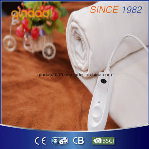 Single Rapid Heating up GS Approved Polyester Electric Under Blanket pictures & photos
