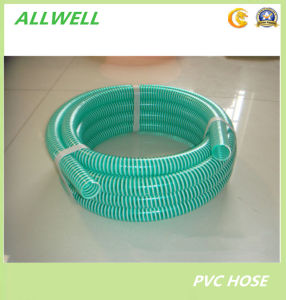 PVC Plastic Flexible Spiral Reinforced Suction Powder Water Pipe Hose pictures & photos