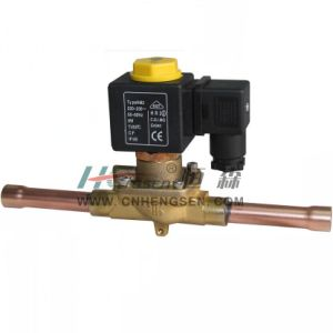 "D C F -03 Solder Refrigeration Solenoid Valve 3/8"" O D F /Normally Closed Solenoid Valve/Direct Operation Solenoid Valve Suitable for Air Conditioning System pictures & photos"