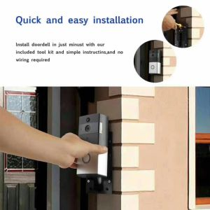 IP Video Door Bell Wich Backup Battery Support Mobile Phone Video Dual Talk pictures & photos