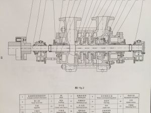 Cg Series Power Plant Water Supply Multistage Pump pictures & photos
