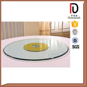 Cheap Wedding Restaurant Table Glass Turnplate (R-BL003) pictures & photos