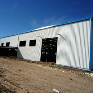 Light Steel Structure Prefabricated Carport Workshop pictures & photos