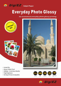 Premium Quality High Glossy Inkjet Printing Photo Paper pictures & photos