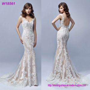 Eco-Friendly Mermaid Wedding Dress Bridal Gown pictures & photos