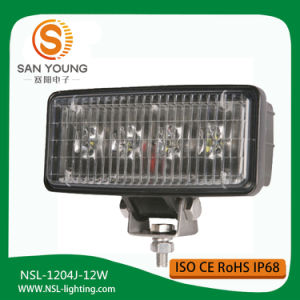 12W Excellent Performance Long Life LED Work Light with Different Color pictures & photos