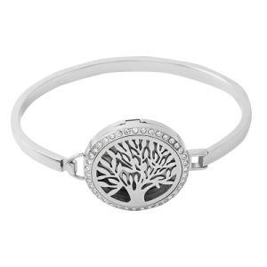 Tree of Life Aromatherapy Oil Diffuser Perfume Locket Bracelet pictures & photos